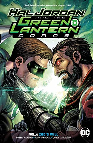Hal Jordan and the Green Lantern Corps (2016-2018) Vol. 6: Zod's Will