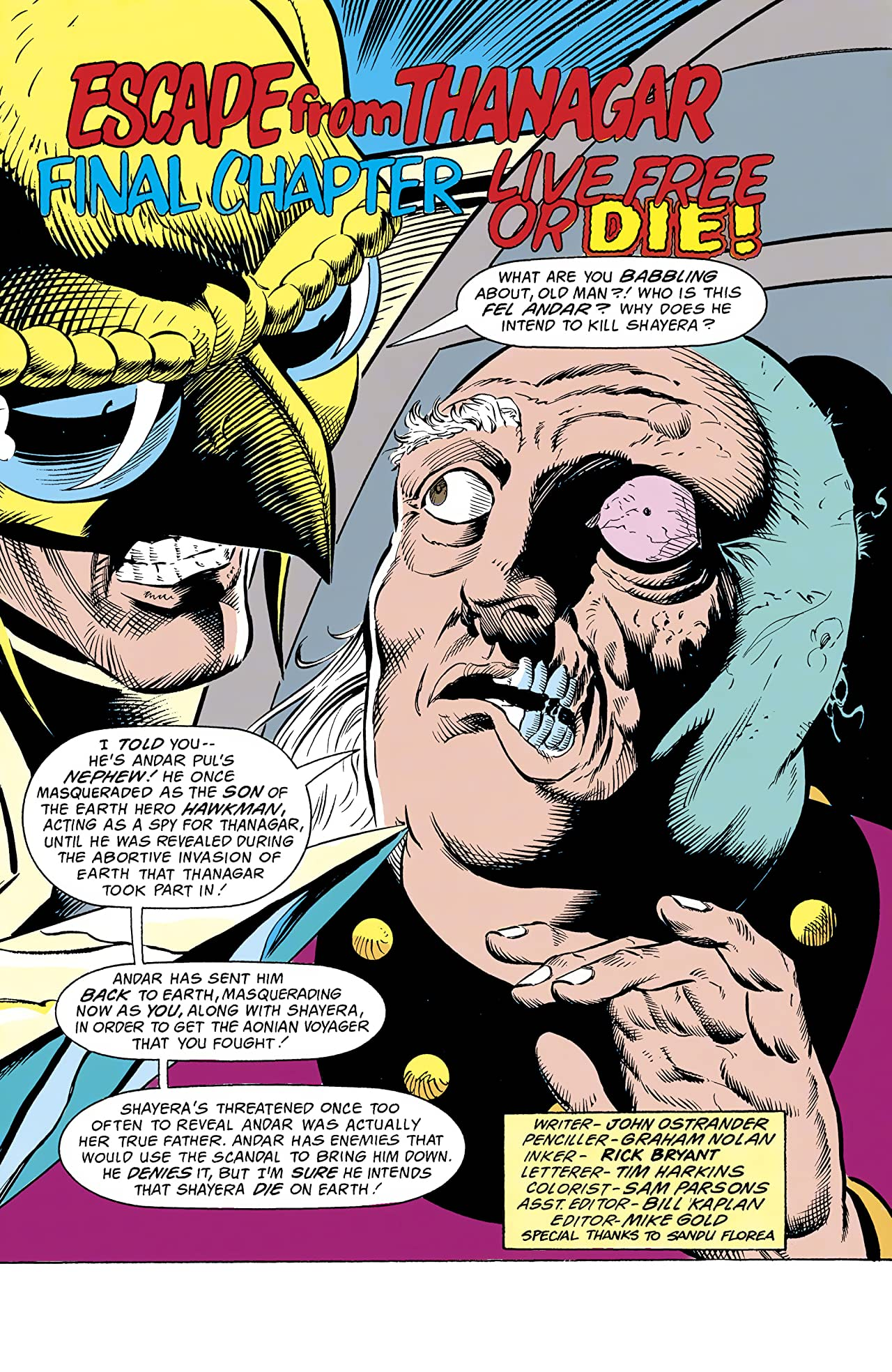 Hawkworld (1989-1993) #25