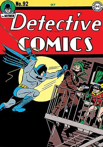 Detective Comics (1937-2011) #92