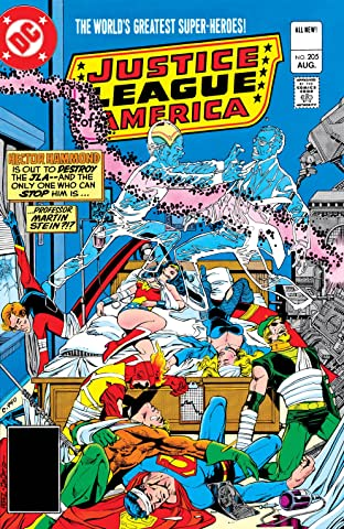 Justice League of America (1960-1987) #205