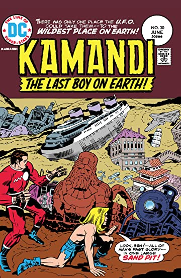 Kamandi: The Last Boy on Earth (1971-1978) #30