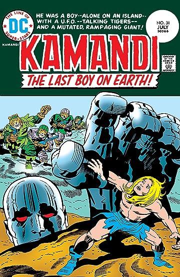 Kamandi: The Last Boy on Earth (1971-1978) #31