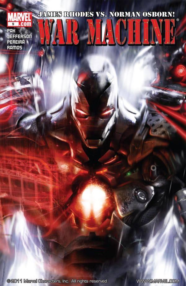 War Machine (2008-2010) #9