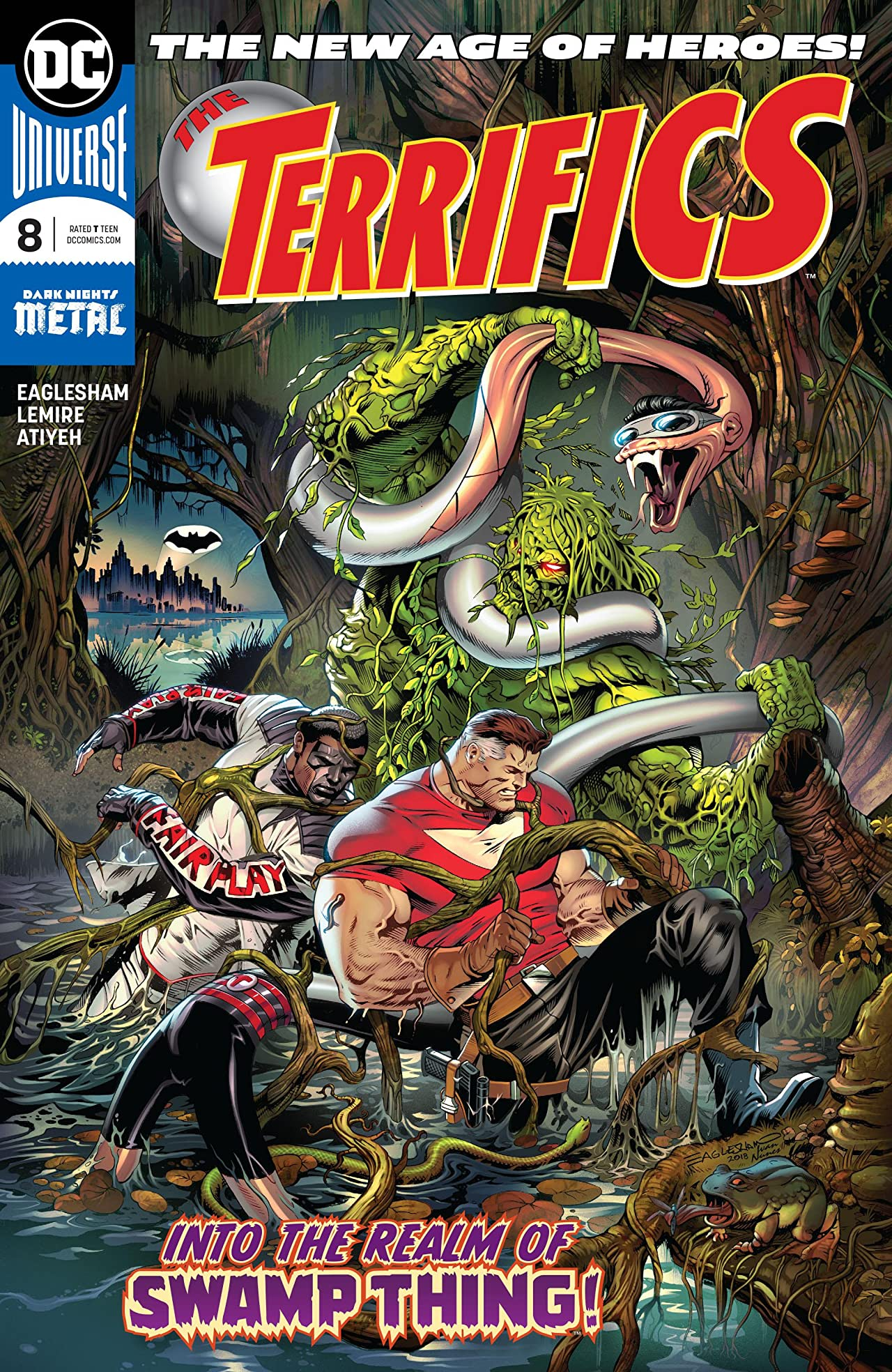 The Terrifics (2018-) No.8