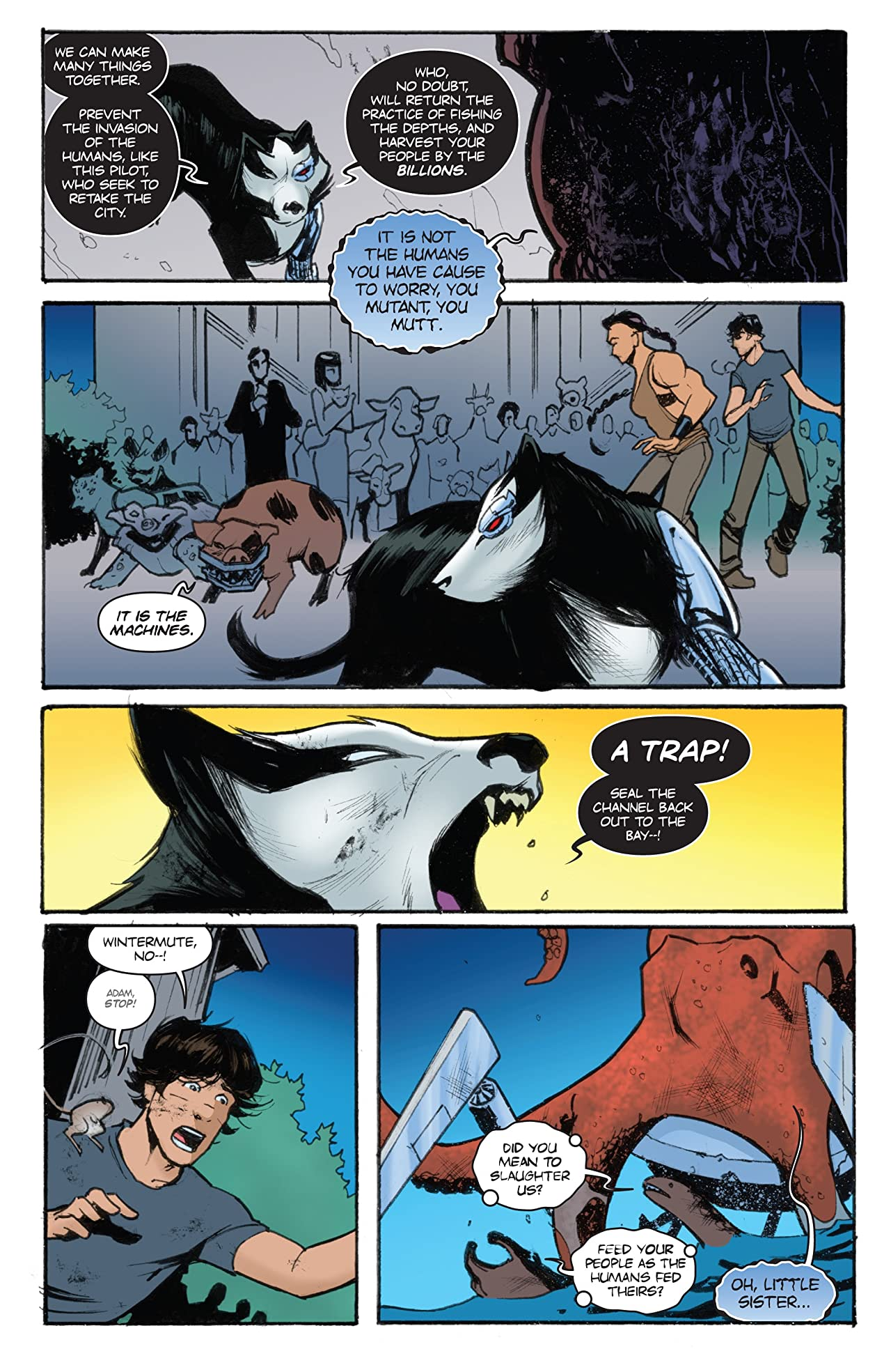 Animosity: Evolution #9