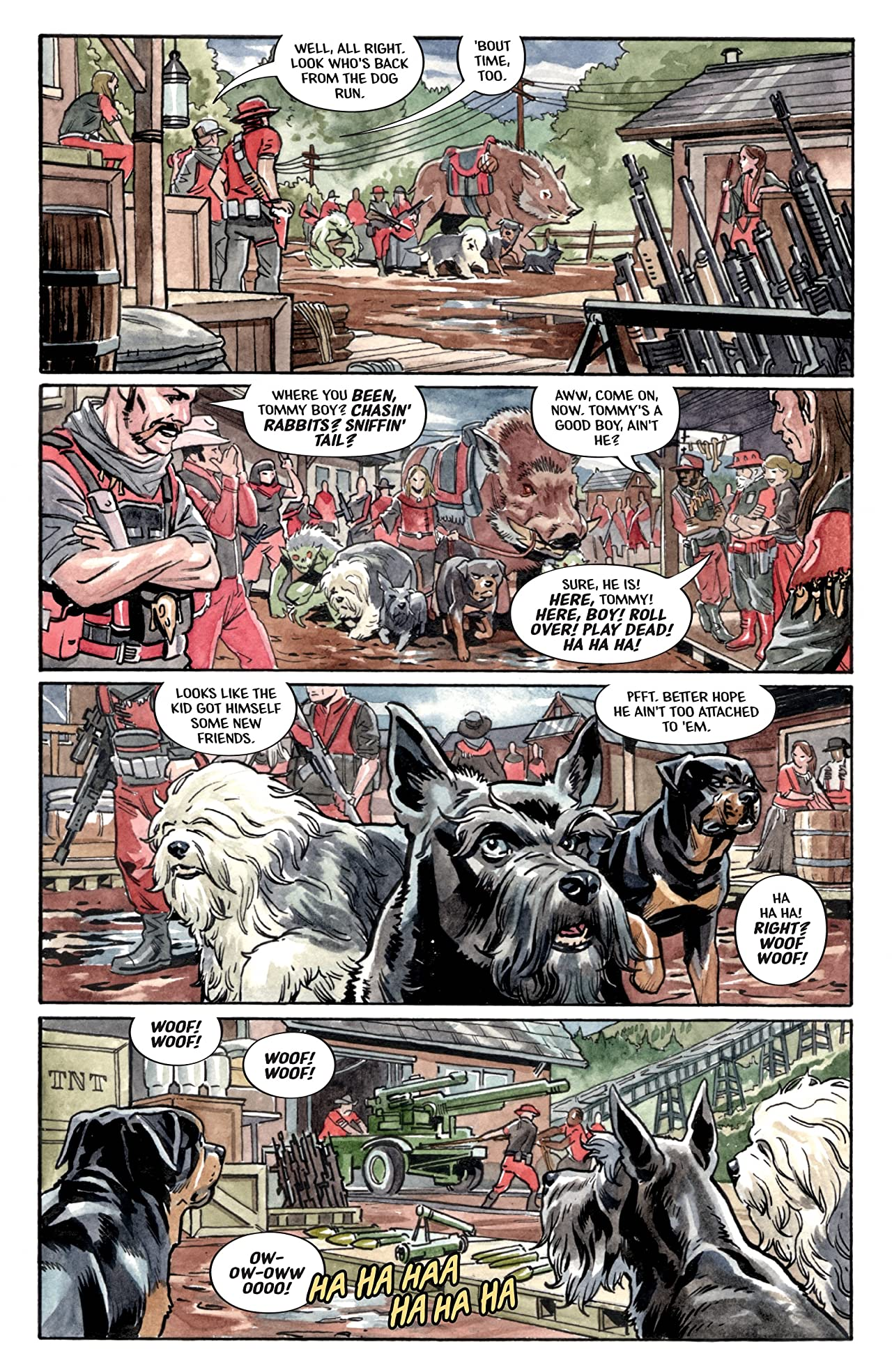 Beasts of Burden: Wise Dogs and Eldritch Men #4