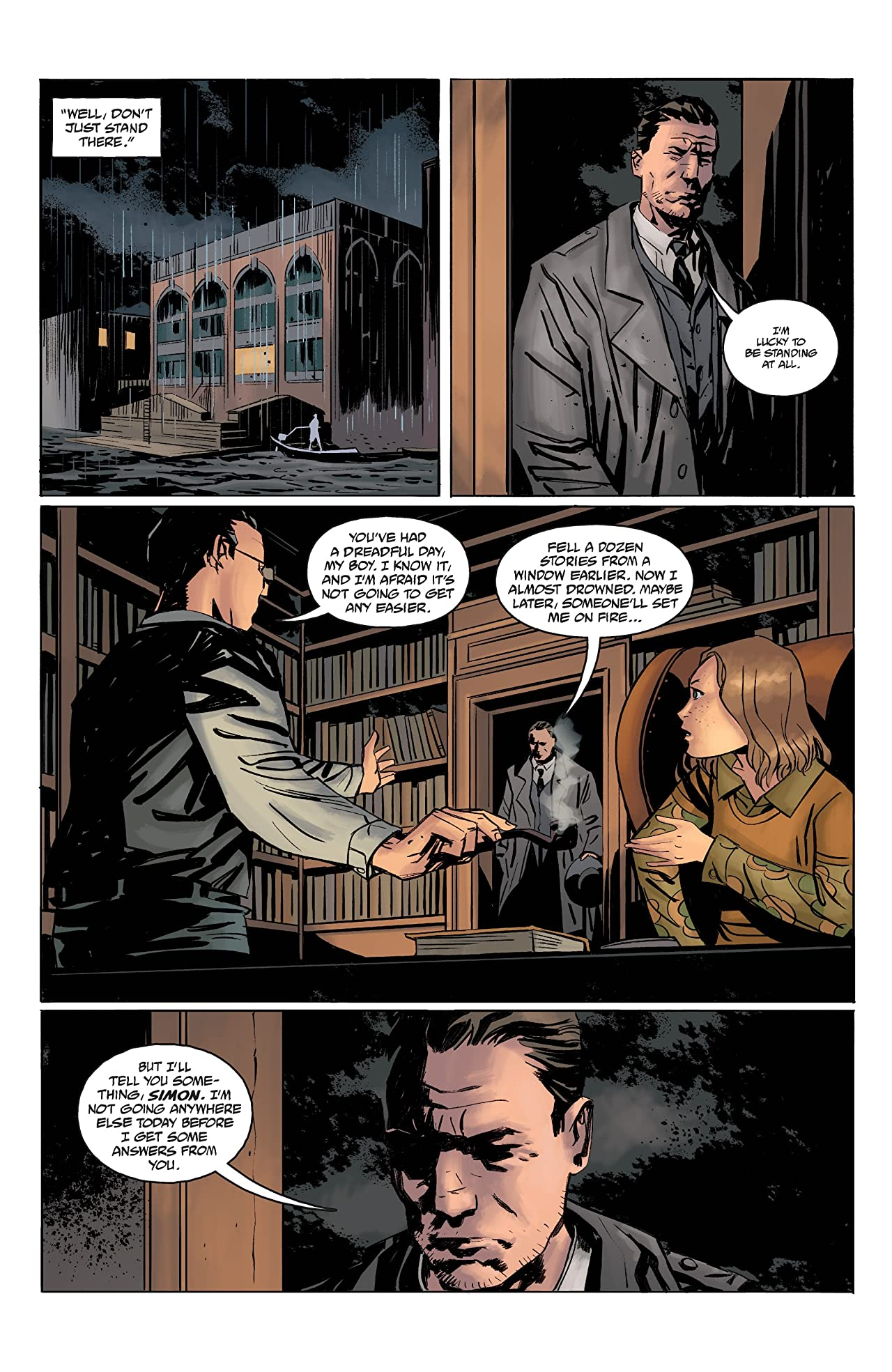 Joe Golem: Occult Detective--The Drowning City #3