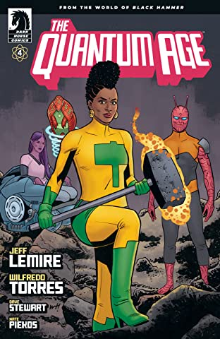 Quantum Age: From the World of Black Hammer No.4