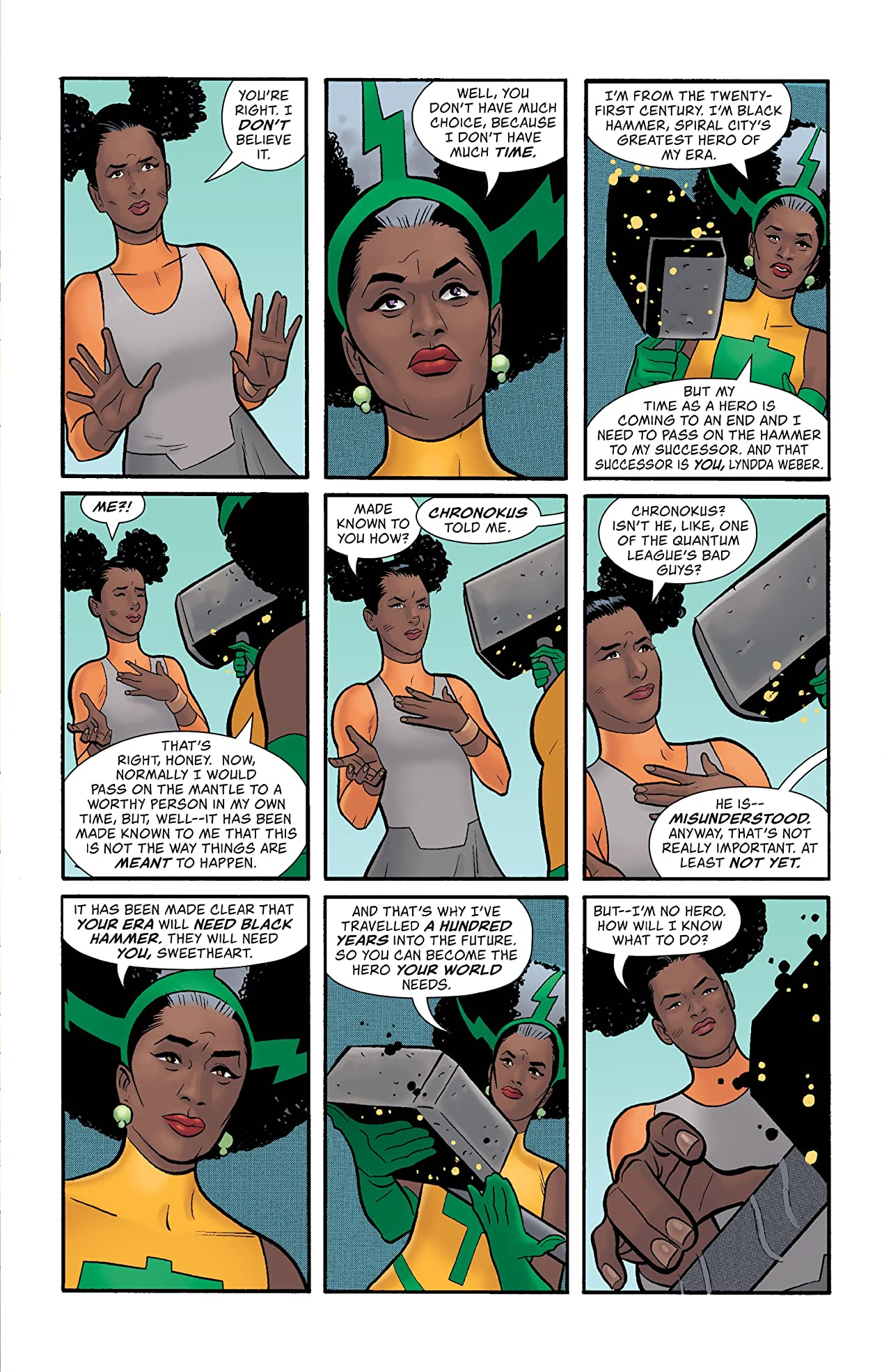 Quantum Age: From the World of Black Hammer #4