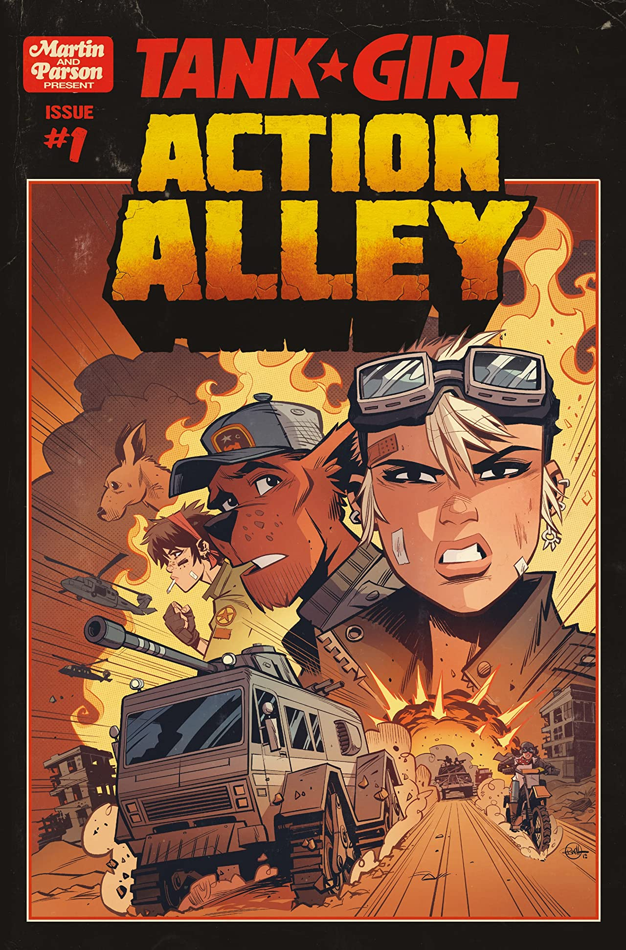 Tank Girl #1: Action Alley