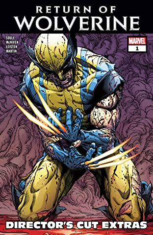 Return Of Wolverine (2018-2019) #1 (of 5): Director's Cut Edition