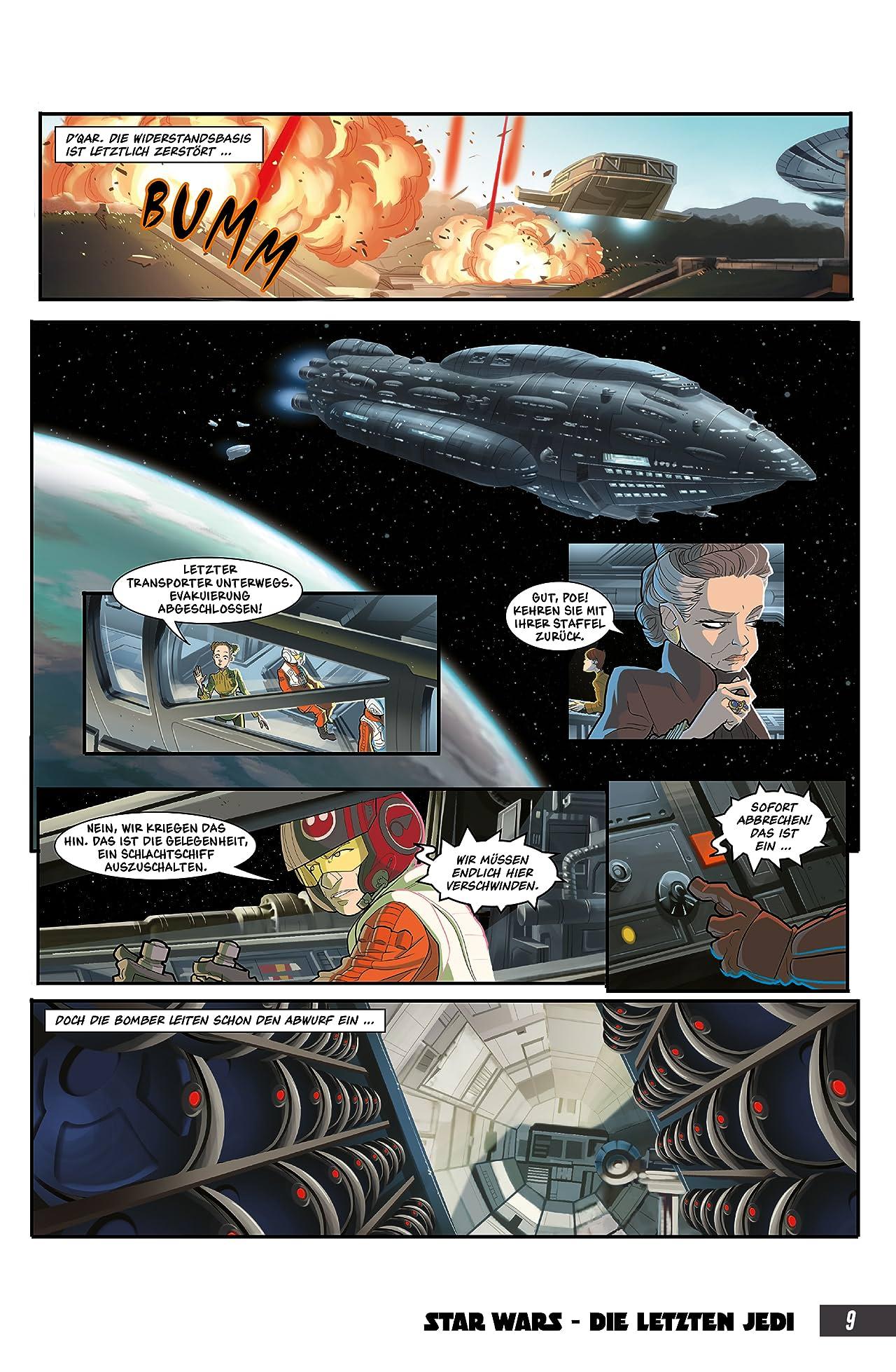 Star Wars: Die letzten Jedi - Comic zum Film