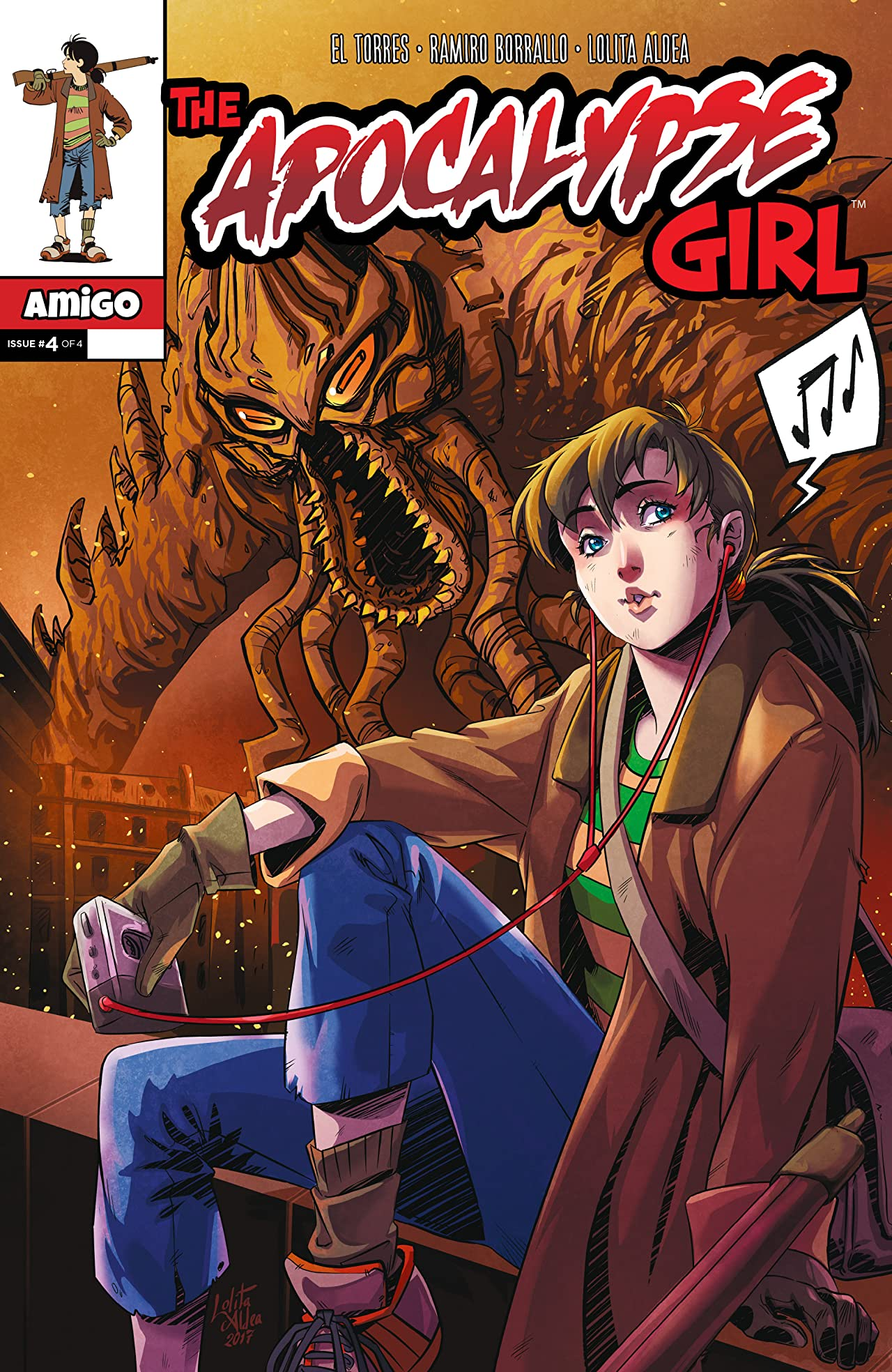 The Apocalypse Girl #4