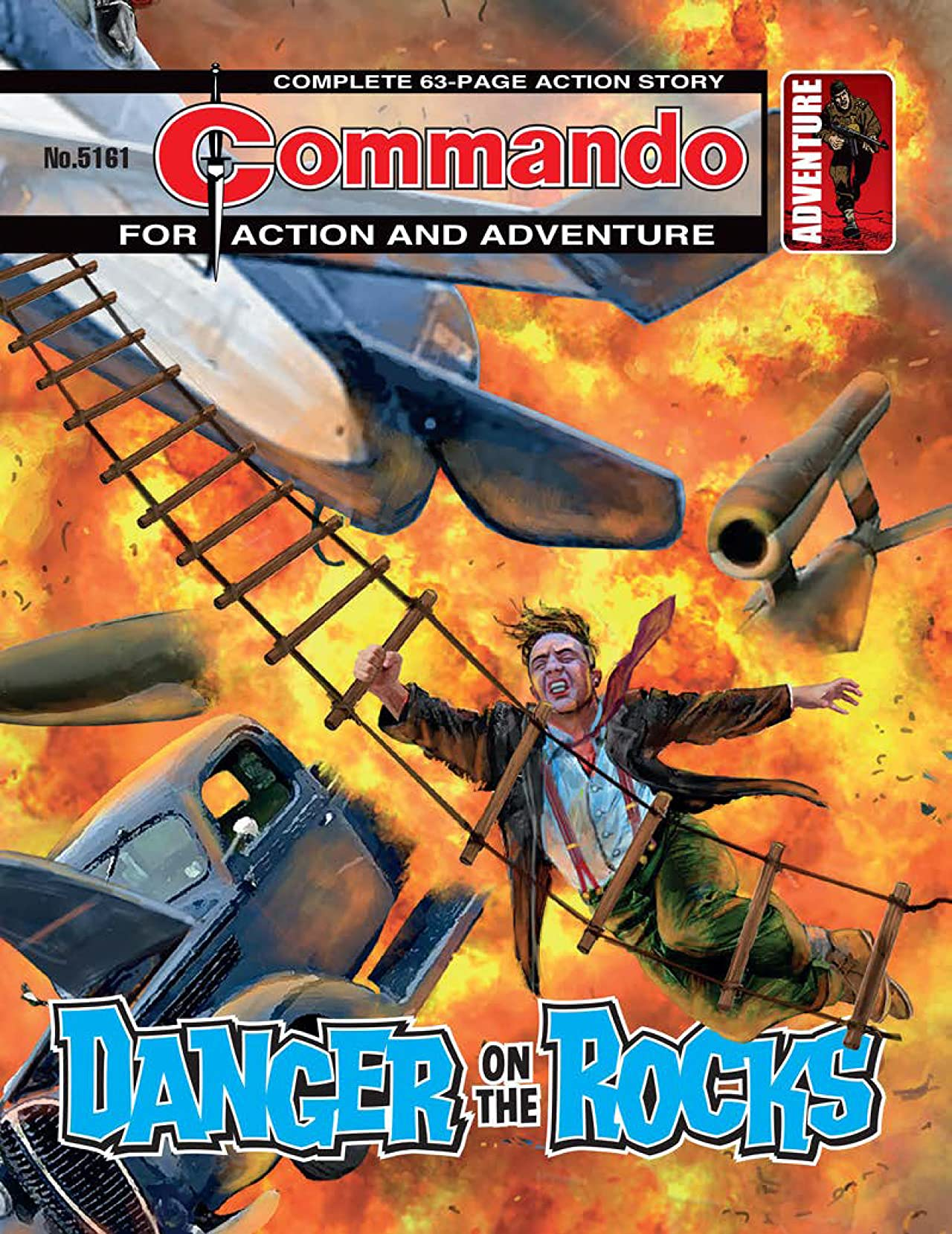 Commando #5161: Danger On The Rocks