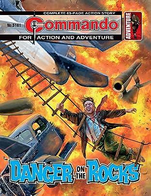 Commando #5161: Danger On The Rocks