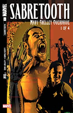 Sabretooth: Mary Shelley Overdrive (2002) #1 (of 4)
