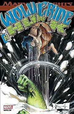 Wolverine/Hulk (2002) #2