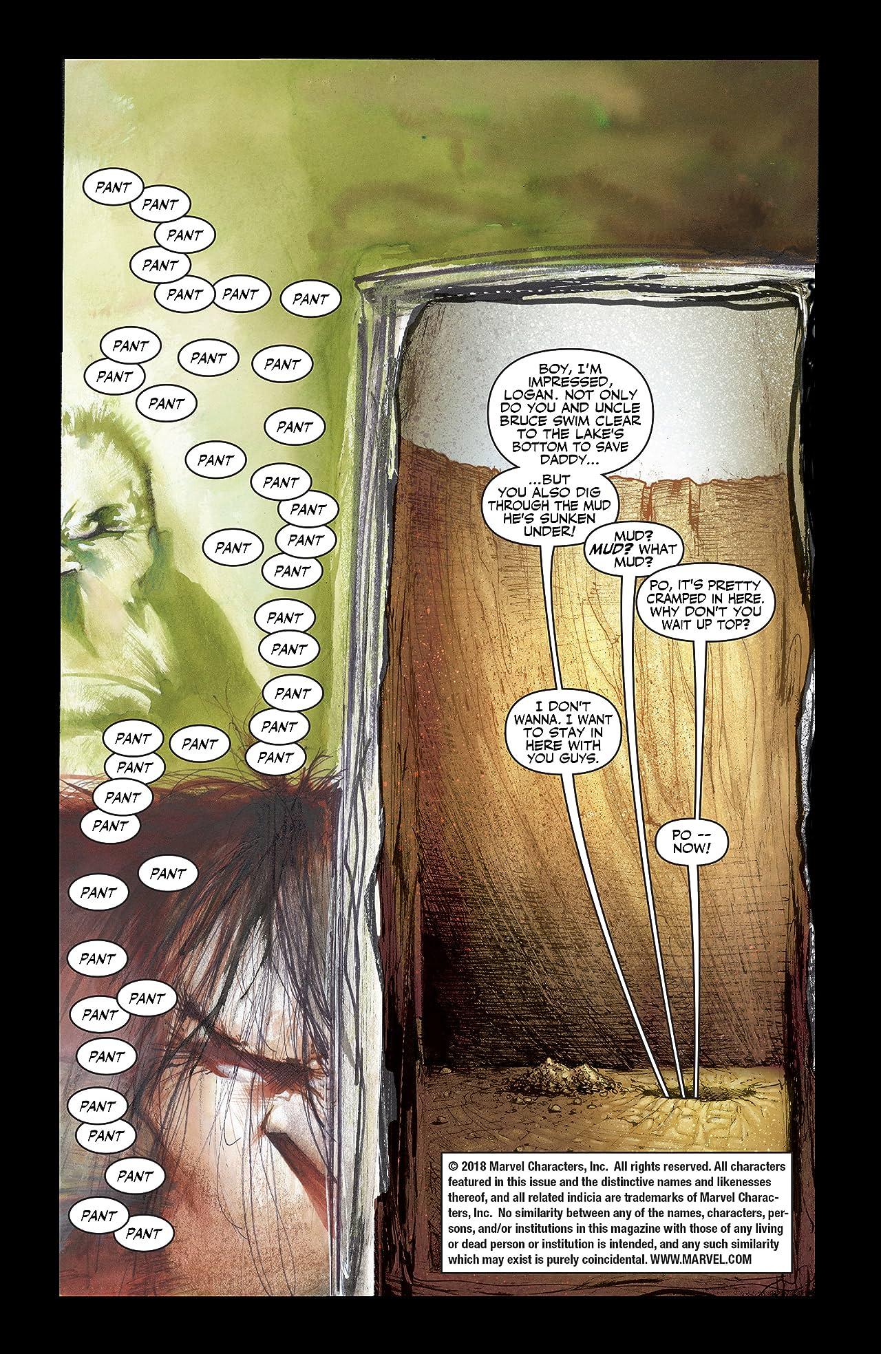 Wolverine/Hulk (2002) #4