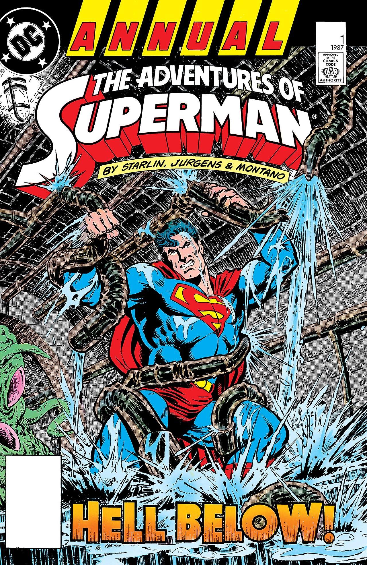 Adventures of Superman (1986-2006) Annual #1