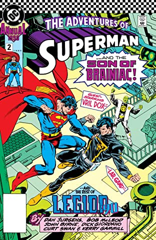 Adventures of Superman (1986-2006) Annual #2