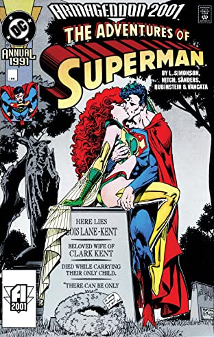 Adventures of Superman (1986-2006) Annual #3