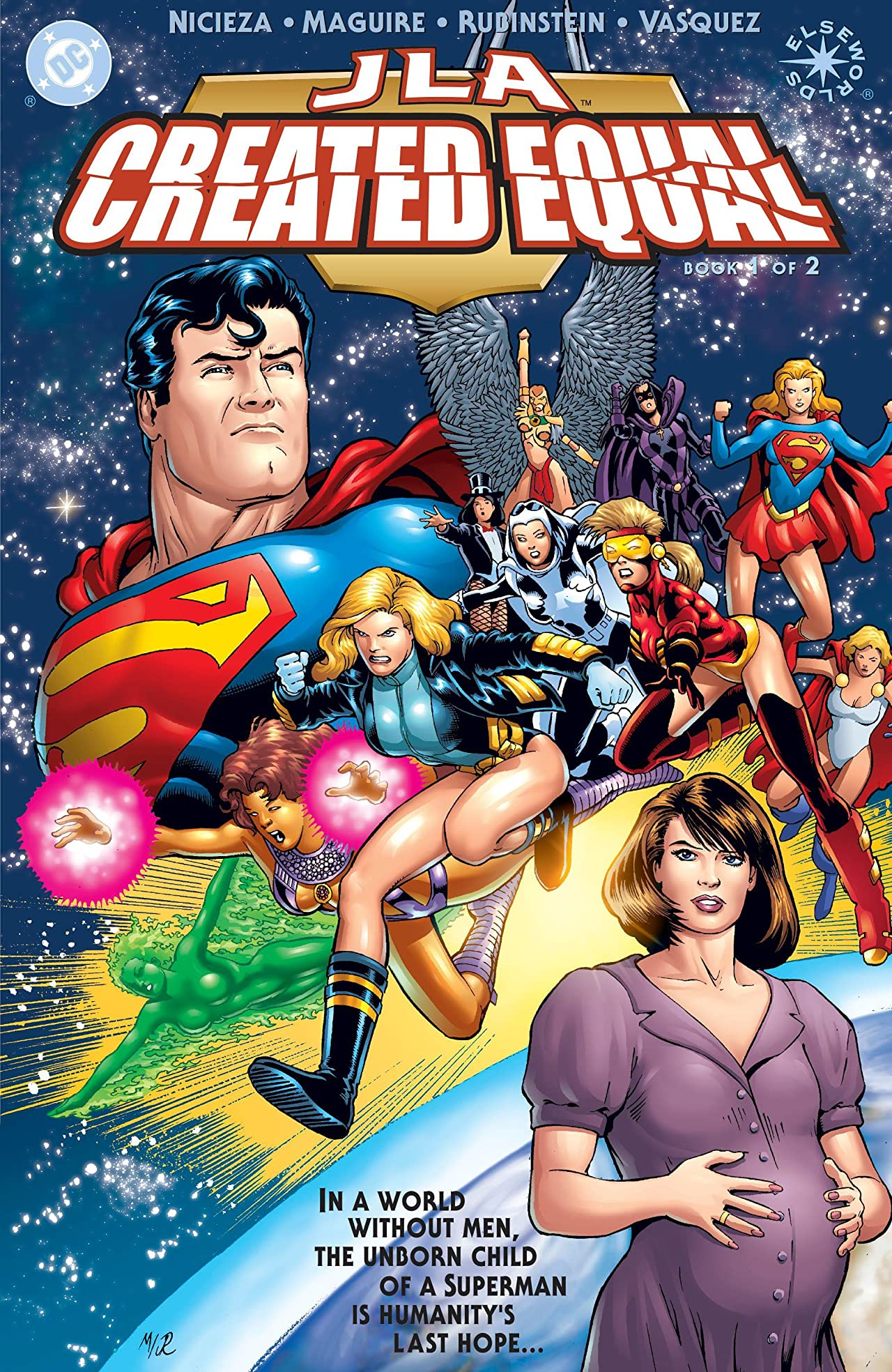 JLA: Created Equal (2000) #1