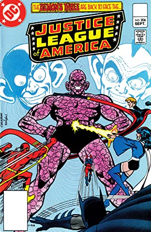 Justice League of America (1960-1987) #206
