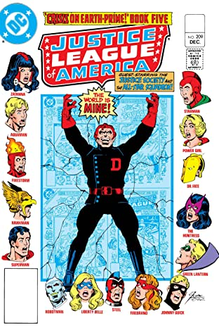 Justice League of America (1960-1987) #209