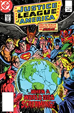 Justice League of America (1960-1987) #210