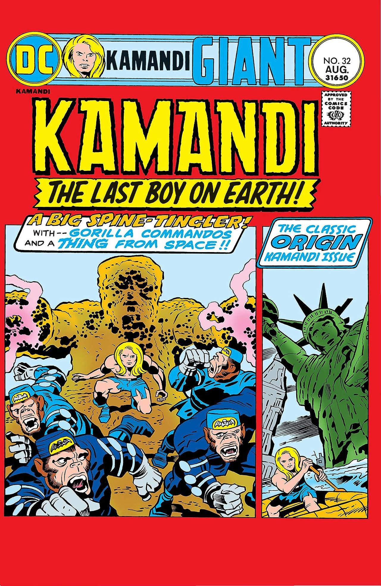 Kamandi: The Last Boy on Earth (1971-1978) #32
