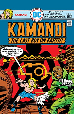 Kamandi: The Last Boy on Earth (1971-1978) #33