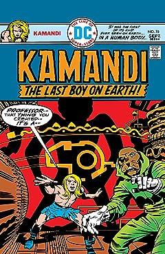 Kamandi: The Last Boy on Earth (1971-1978) #33