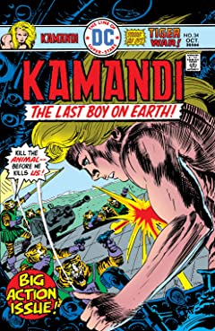 Kamandi: The Last Boy on Earth (1971-1978) #34