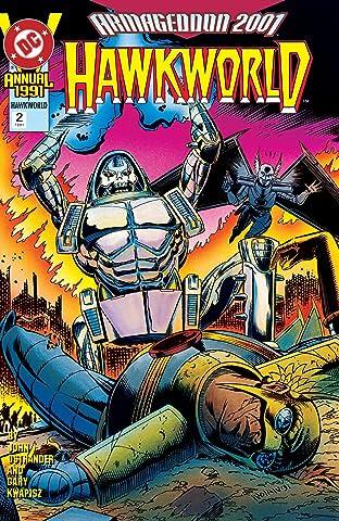 Hawkworld (1989-1993) Annual #2