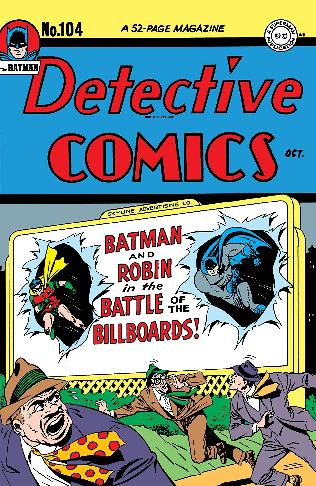 Detective Comics (1937-2011) #104