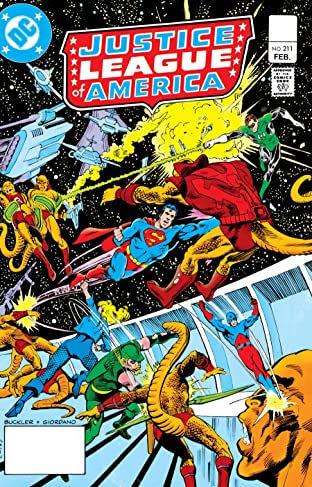 Justice League of America (1960-1987) #211