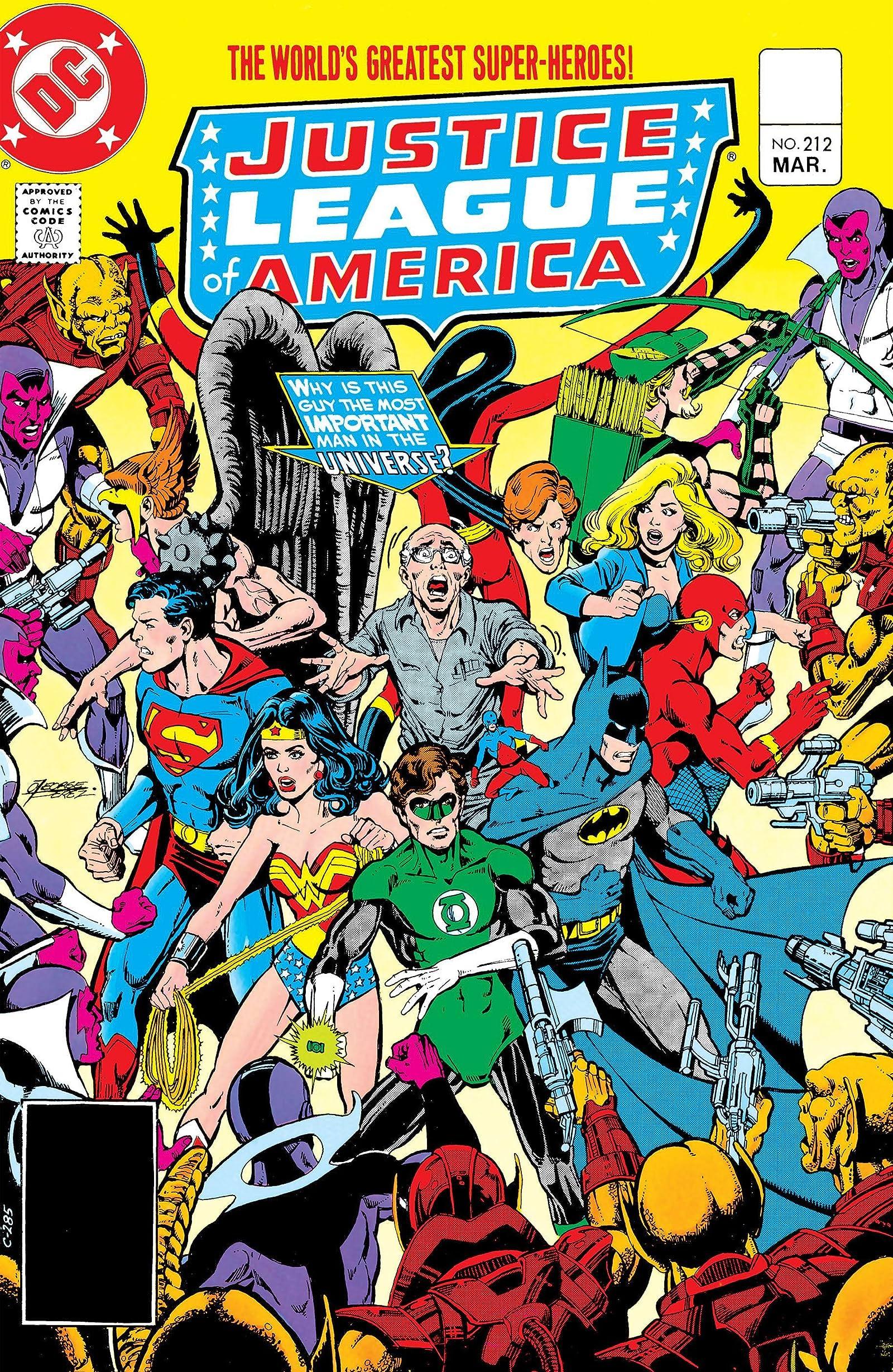 Justice League America 1987 series # 15 very fine comic book