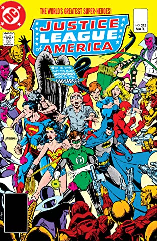Justice League of America (1960-1987) #212
