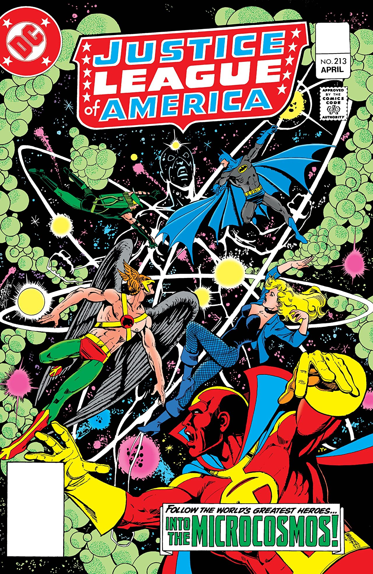 Justice League of America (1960-1987) #213