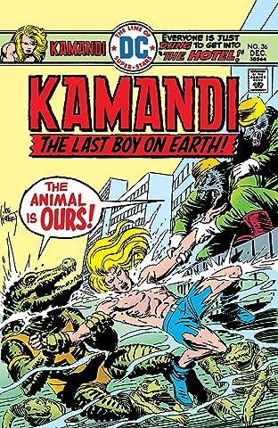 Kamandi: The Last Boy on Earth (1971-1978) #36