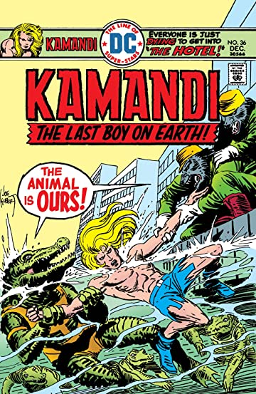 Kamandi: The Last Boy on Earth (1971-1978) #36