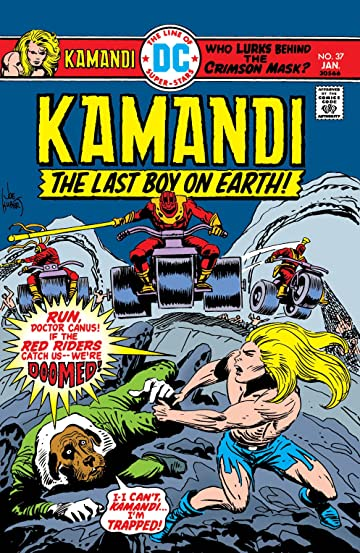 Kamandi: The Last Boy on Earth (1971-1978) #37