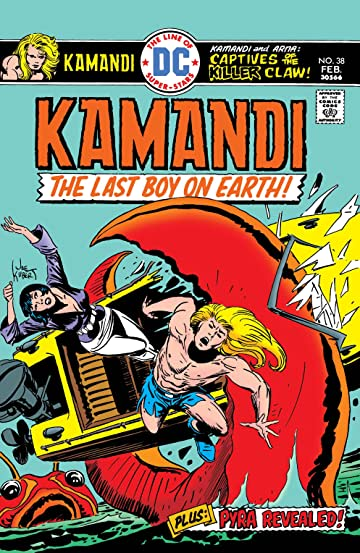 Kamandi: The Last Boy on Earth (1971-1978) #38