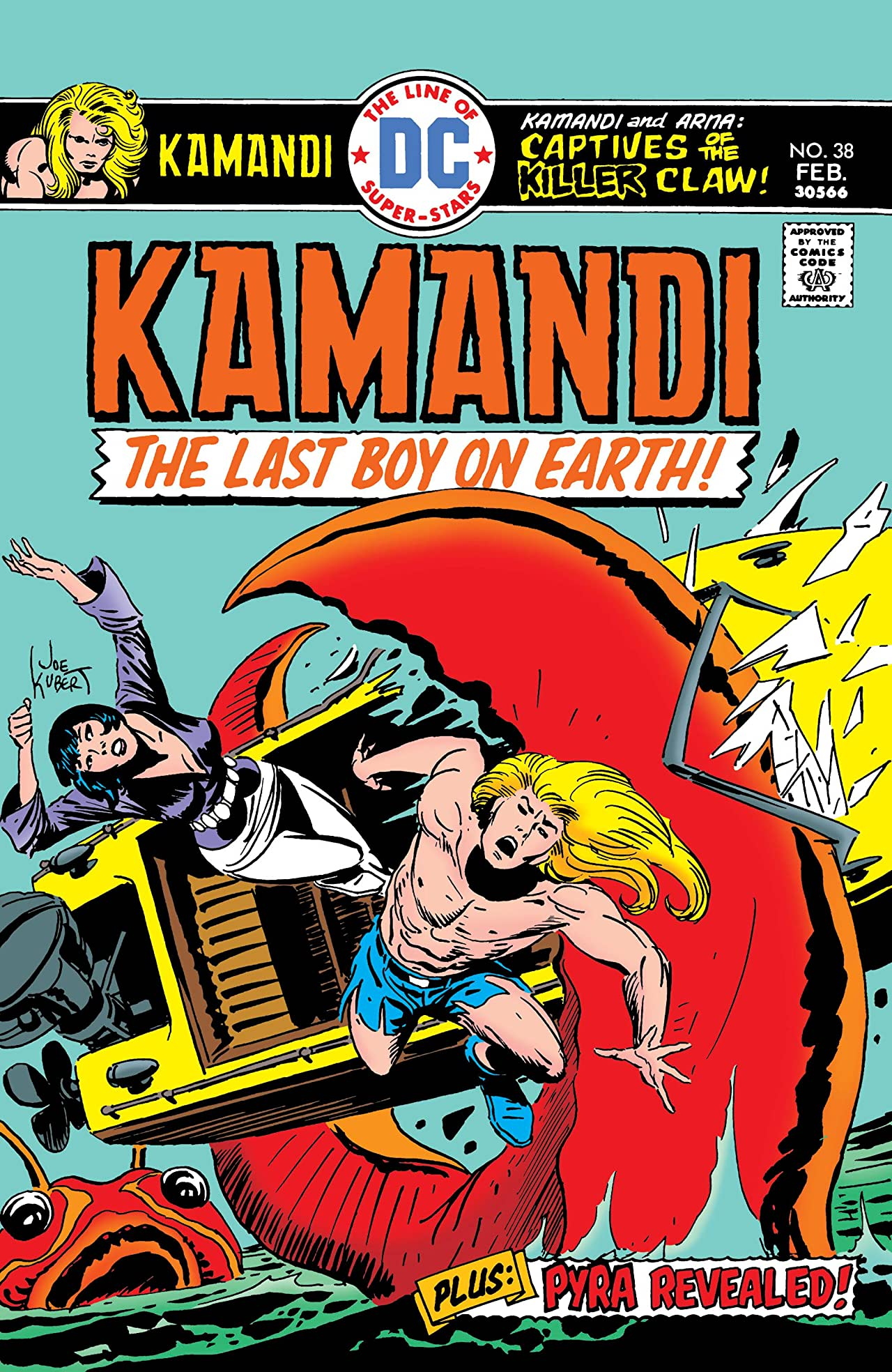 Kamandi: The Last Boy on Earth (1971-1978) #38