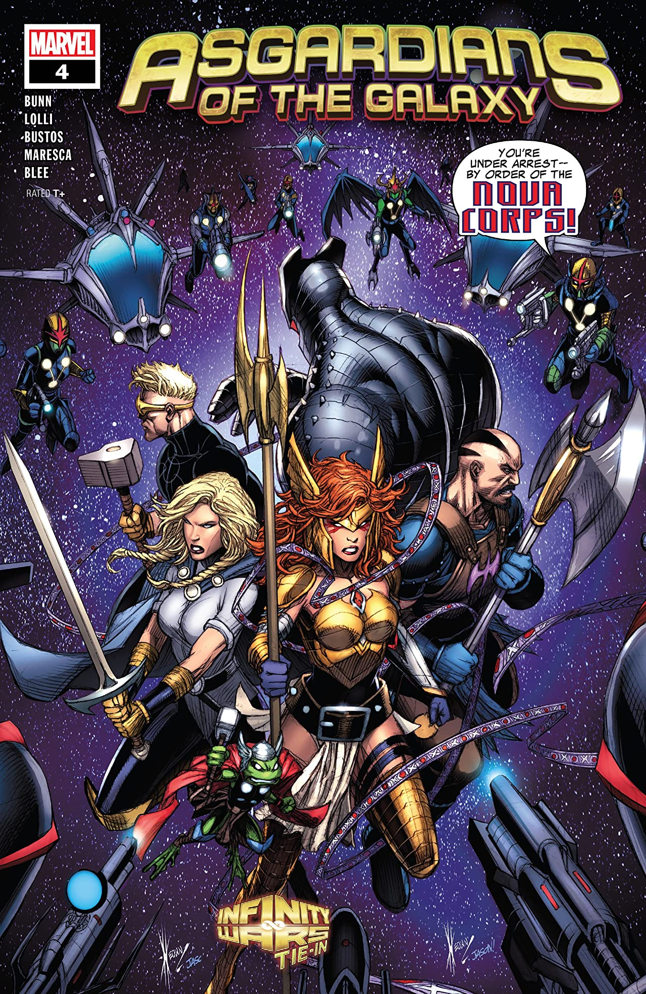 Asgardians of the Galaxy (2018-2019) #4