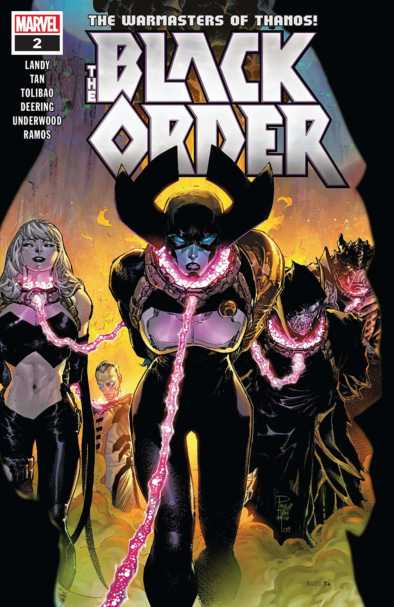 Black Order (2018-) No.2 (sur 5)