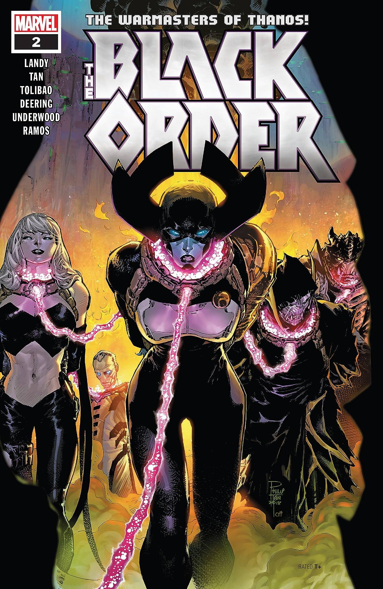 Black Order (2018-) #2 (of 5)