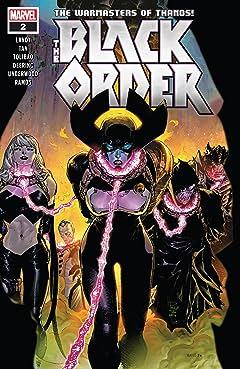 Black Order (2018-2019) #2 (of 5)