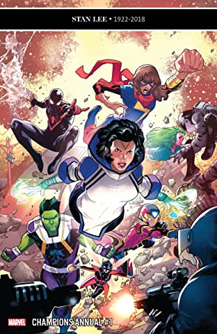 Champions (2016-) Annual #1