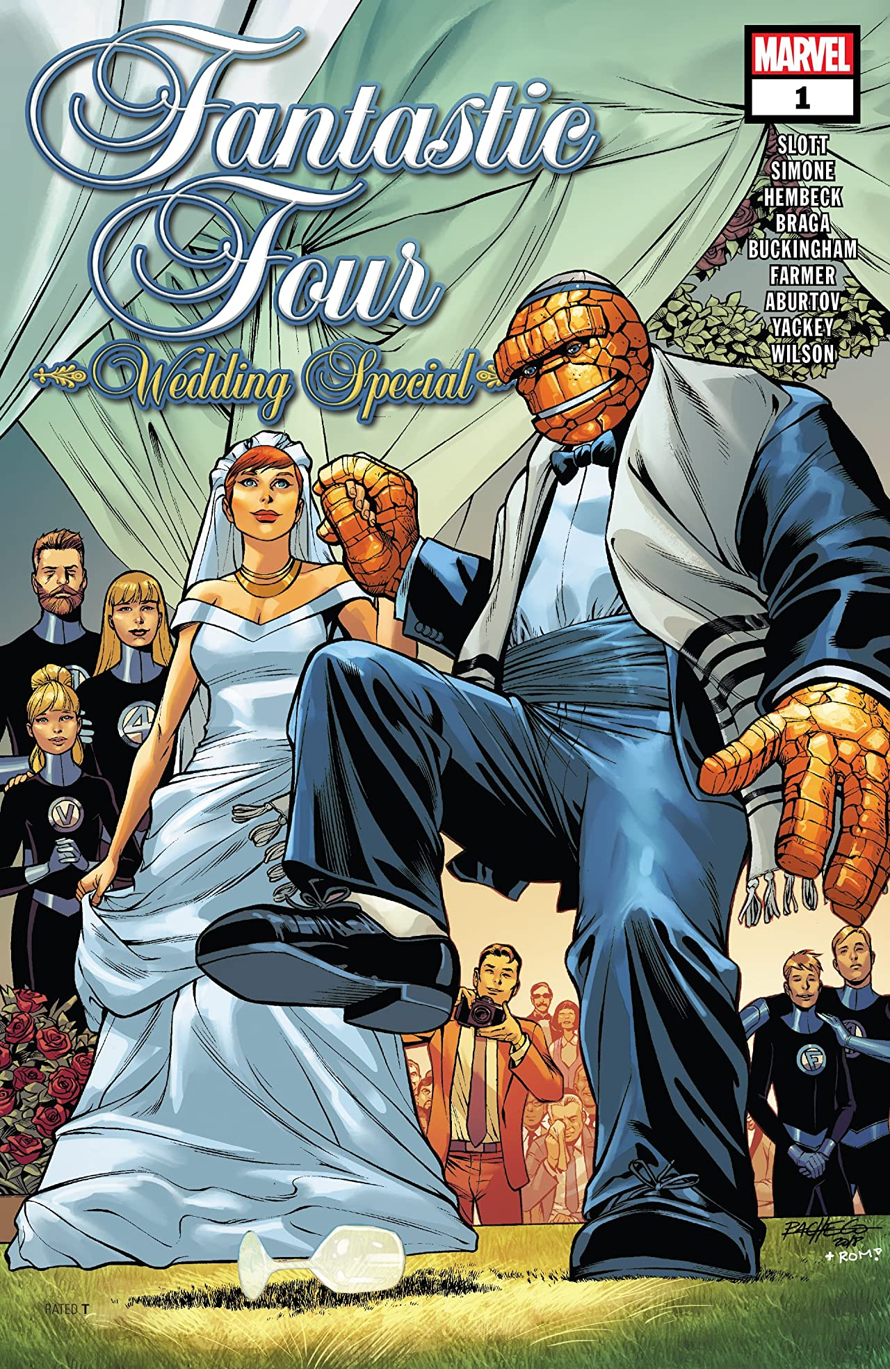Fantastic Four: Wedding Special (2018) No.1
